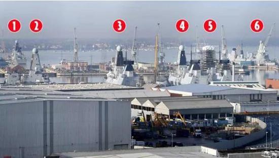 英舰遭我16艘舰围观令其网友愤怒:不如购买中国054A