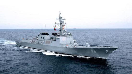 韩国为追赶中国海军也要造航母大驱 但都还在CG阶段