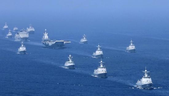 印媒:印度海军对中国摆出进攻姿态 削弱中国威胁