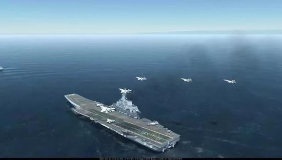 舰机融合训练日渐成熟辽宁号渐具初始战力