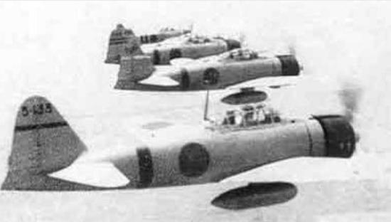 零式战斗机编队