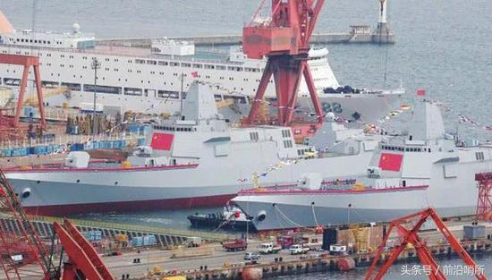 055大型驱逐舰