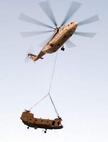 原料图:世界最大直升机米-26