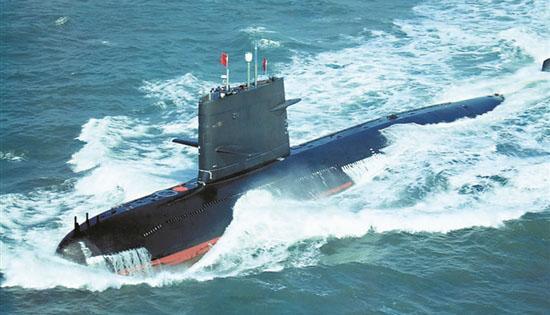 中国海军039B潜艇