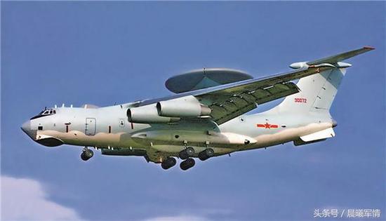 KJ-2000预警机乘员数量可达18-30人