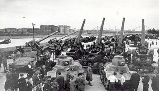 俄国缴获的日军重装备