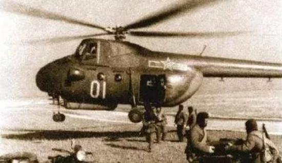 中国版米-4直升机