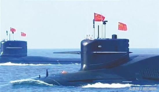 094A型核潜艇公开亮相