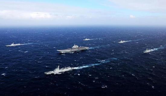航母编队   2025年将见证中国海军蓝水计划的巅峰时刻,中国海军将