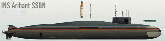 图片:歼敌者号设计上可携带12枚B-05或4枚K-4