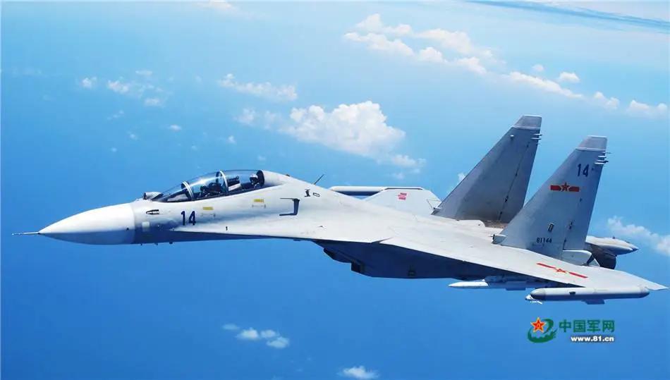 """军媒披露东部战区""""海空雄鹰团""""驱离外机:与数倍于我的兵力对峙近1小时"""