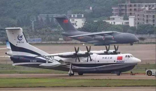 中国AG600飞机年内水上试飞 将有1600公里往返能力小爸爸每天几点更新