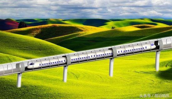 中国将造超级高铁快过飞机?1800秒就可从伦敦到巴黎