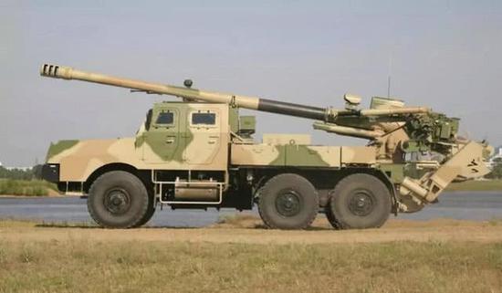北方工业SH1型155卡车炮