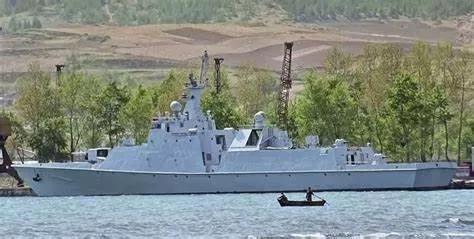 ▲朝鲜海军虽然规模很小,但其现代化进程倒也不至于完全中断