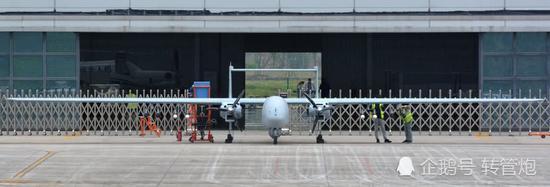 中国最新大型无人机曝光 可歼敌于3千公里之外(图)