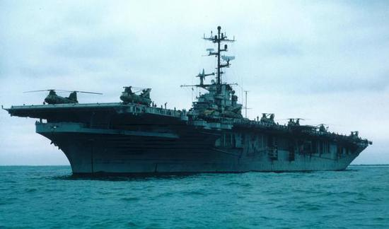 我两栖攻击舰初见雏形 排水量约2万吨与071型差不多