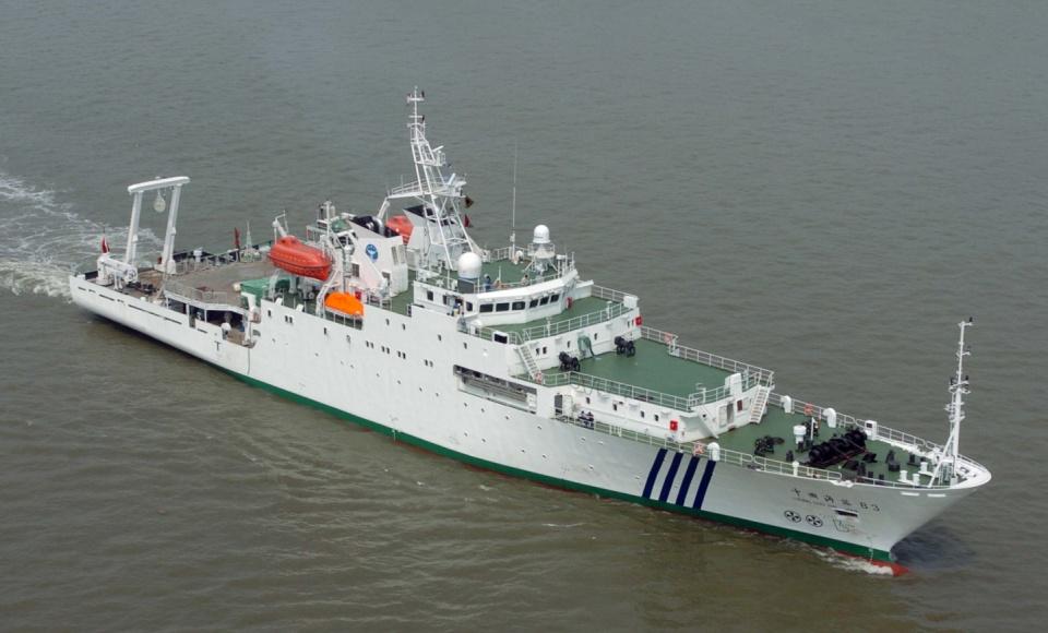 中国研制的这艘新型调查船 竟可掌握未来能源密钥