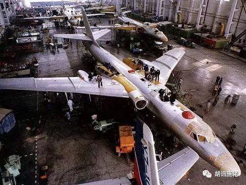 ▲ 轰-6和配套发动机的全面国产化直到上世纪70年代才基本完成
