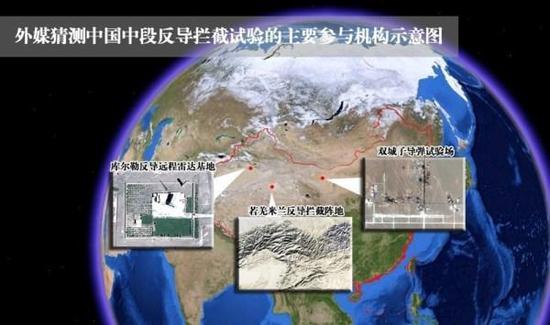 外媒猜测中国中段反导基地