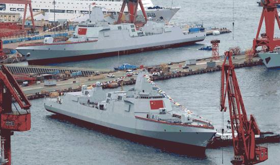 8艘055+5艘075!美媒:中国未来5年造舰规模史上最大