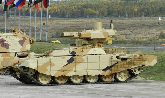俄最新的步兵支援车也支援了中东前线