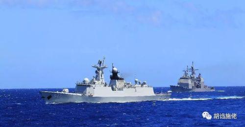 美军舰超越台海后航母编队或还有行动 中国更应关注