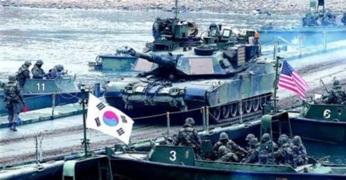 韩美联合军演今日结束 美国朝鲜政策特别代表再访韩