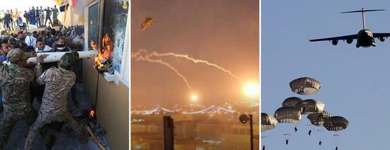 """新年礼物:美大使馆被围攻 伊拉克民众受够了""""占领军"""""""