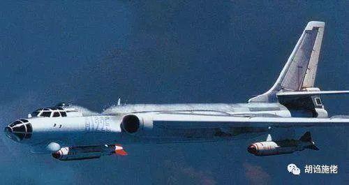 ▲ 从轰-6丁开始,轰-6轮番挂着新型的导弹,但是机体构型却一直没什么变化
