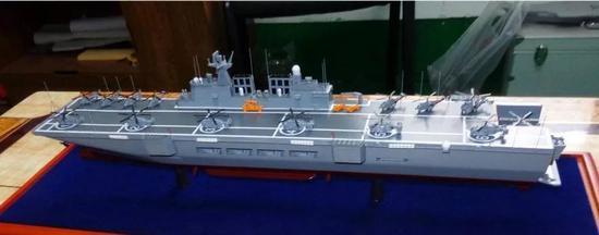 中国075两栖舰为何不用双舰岛 一个问题难以解决