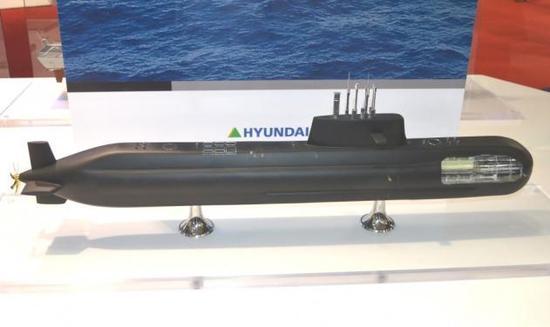 韩最强大潜艇将下水 却载6枚下垂发弹道带弹射程500公里