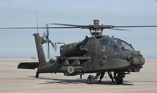 AH-64翼尖增加的AAQ-24激光对抗系统吊舱