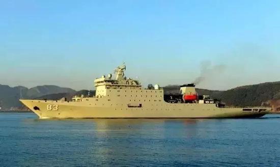 中国海军16年前首次环球航行 如今已遨游四海(图)何音微博