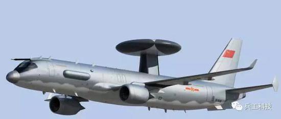 中国研发新型空警3000预警机 比空警2000有哪些改进