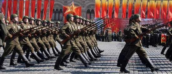 三棱刺刀成为了俄国军队历史的象征之一