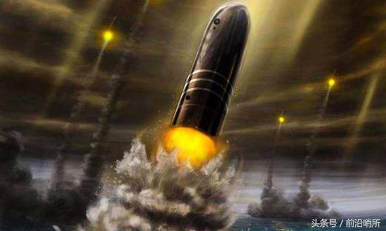巨浪-3型导弹想象图