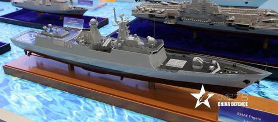 054A被命名白鲨4000 中国武器销