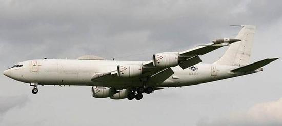 E6通信中继飞机才是真正的核弹总导演