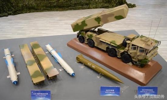 △CX-1可與M-20戰術導彈以及一系列遠程火箭炮共架發射
