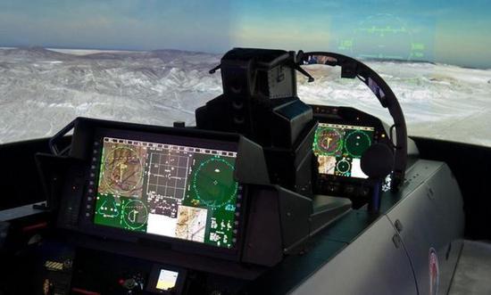 F-15E的现代化座舱