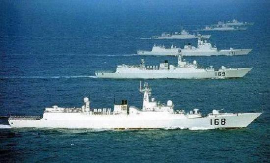 中国40艘舰艇南海军演 这个系统在背后发挥关键作用