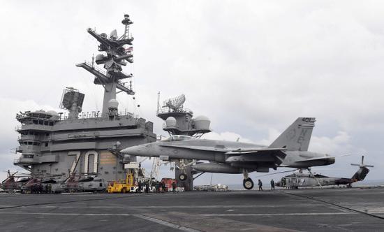 韩媒:美韩军演结束 美国没派航母史无前例低调赤足蚁