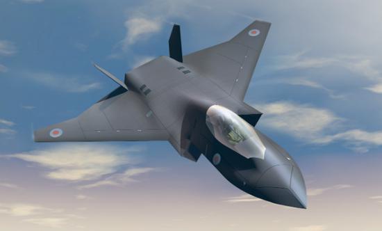 """英国航空巨头:我们六代战机不装仪表有利""""个性化"""""""