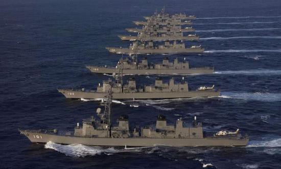 日本神盾舰数量为何远落后中国 关键技术被美卡脖子