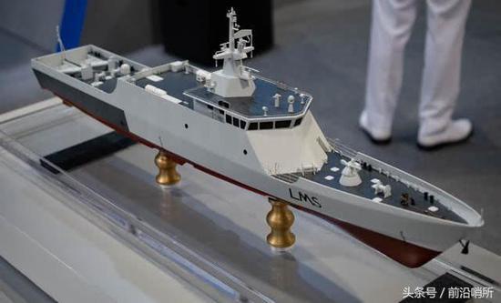 LMS瀕海任務艦模型