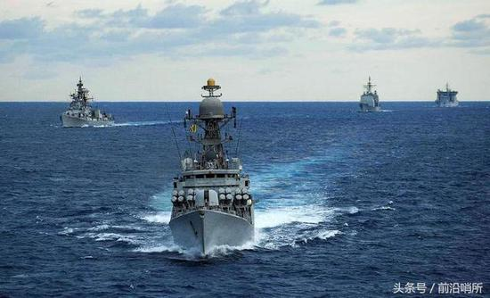 资料图:印度海军