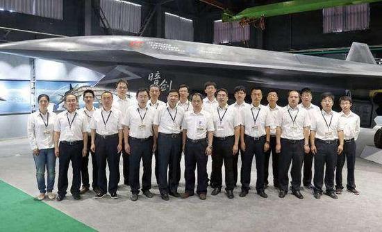 中国或已开始试验暗剑无人机