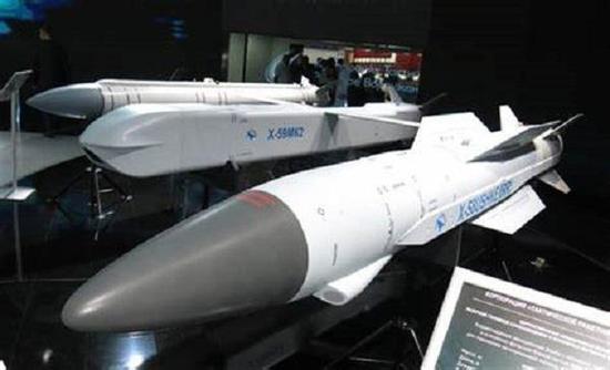 中国还引进了KH-58USHKE高速反辐射导弹