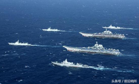 中国海军双航母想象图